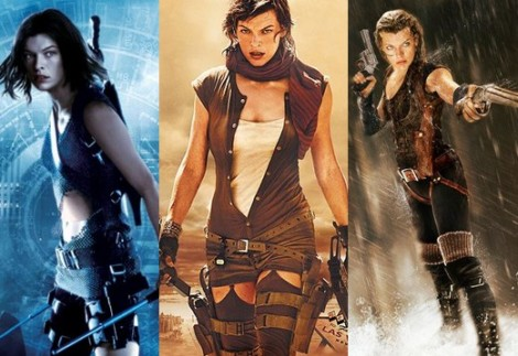 Resident Evil Apocalypse Extinction Afterlife
