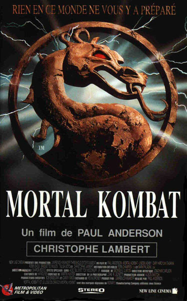 affiche Mortal Kombat (film)