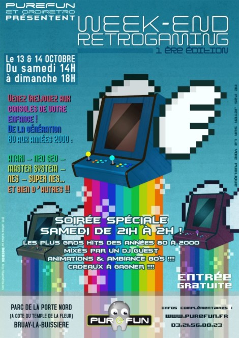 Purefun weekend retrogaming